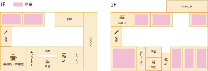フロアマップ画像